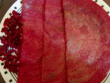 Yummy Beetroot Dosa Recipe Photos