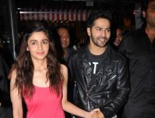Alia Bhatt and Varun Dhawan stuns at R City Mall during Promotion Photos