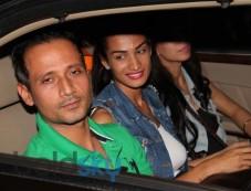 Bollywood Celebs at Kick Screening Photos