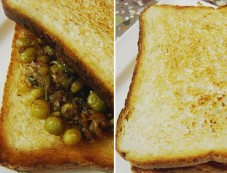 Bread Masala Peas Recipe Photos