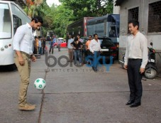 John Abraham at India's Biggest Football Hangout Photos