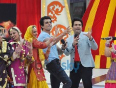 Sonu Sood during Happy New Year Promotion Photos