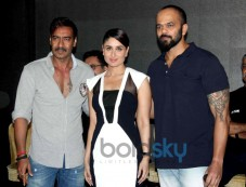 Ajay Devgan, Kareena Kapoor and Rohit Shetty Photos