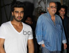 Arjun Kapoor, Boney Kapoor Photos