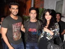 Arjun Kapoor, Varun Dhawan, Shruti Haasan Photos