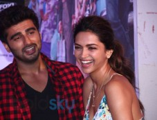 Arjun Kapoor and Deepika Padukone Photos