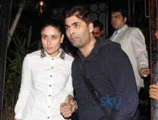Kareena Kapoor, Karan Johar Photos