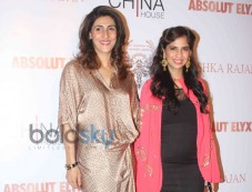 Sridevi Unveils Absolut Elyx and Anushka Rajan's Fashion Preview Photos