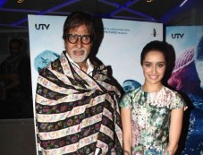 Amitabh bachchan And Shraddha Kapoor Photos