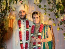 Dia Mirza And Sahil Sangha Wedding Ceremony Photos
