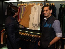 Saif Ali Khan Unveils Raghavendra Rathores Mens Jewellery Photos
