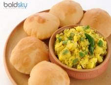 Healthy Matar Puri Recipe Photos