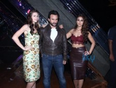 Kalki Koechlin, Saif Ali Khan And Ileand D'Cruz Photos