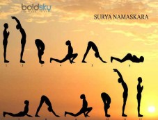 Sun Salutation Photos