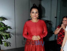 Vidya Balan Is Looking Red Hot In A Prama By Pratima Pandey Suit. Photos
