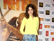 Trailer Launch Of Film NH10:Anushka Sharma Shine Out In Bright Yellow. Photos