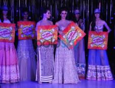 Gionee India Beach Fashion Week 2015-Day 3 Falguni and Shane Peacock Finale Show. Photos