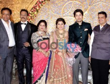 SRK At  Designer Manali Jagtap and Vicky Shoor's Wedding Reception Photos