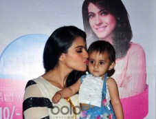 Kajol Launches Huggies, Priceless Moments Mobile Campaign In Mumbai  Photos