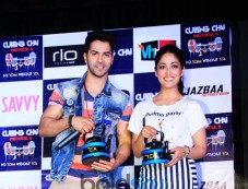Varun Dhawan At National College's Cutting Chai Festival Photos