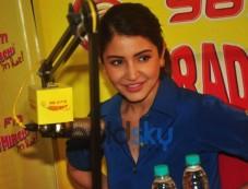 Anushka Sharma  At Radio Mirchi Studio For Promotion Of NH10  Photos