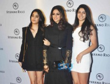 Sridevi At The Launch Of  Italian International Ultra-Luxury Fashion And Lifestyle Brand Stefano Ric Photos