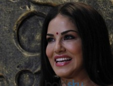 Sunny Leone Goes Traditional In Neon Green Suit Photos