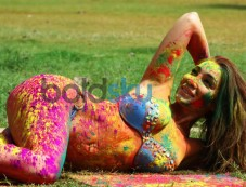 Sofia Hayat Holi 2015 Special Photo Shoot Photos