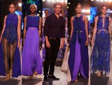Lakme Fashion Week 2015 WEvolve  Blue Fashion Runway By Manish Malhotra Photos