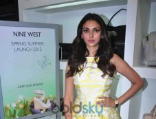 Aditi Rao Hydri Launch The Spring Summer Collection By Nine West Photos