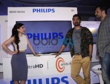 Kunal Khemu,Soha Ali Khan,Rannvijay Singh At Launch Of Latest Philips Tv Photos