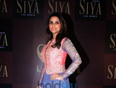 Parineeti Chopra At Launch Of Siyaram's SIYA Fashion Brand Photos