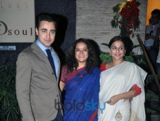 Vidya Balan And Imran Khan At Sculpture Show Photos