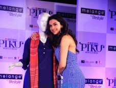 Deepika Padukone and Irrfan Khan At Launch Of Piku Melange Collection Photos