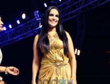 Neha Dhupia At Rajasthan Fashion Week 2015 Photos
