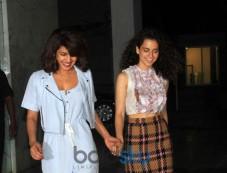 Priyanka Chopra And Kangana Ranaut Photos