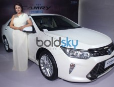 Tisca Chopra At The Launch Of Toyota The All New Camry In New Delhi Photos