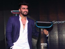 Arjun Kapoor At The Launch Of New Body Grooming Solutions By Philips Photos