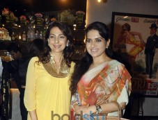 Juhi Chawla At Launch Of Pizza Metro Pizza At Kemps Corner Photos
