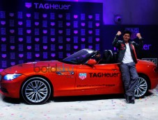 SRK Launches Tag Heuer's Don't Crack Under Pressure Initiative Photos