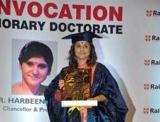 Vidya Balan Conferred With A Doctor Of Arts Honoris Causa Photos