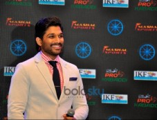 Allu Arjun As Brand Ambassador For Star Sports  Pro Kabaddi League Photos