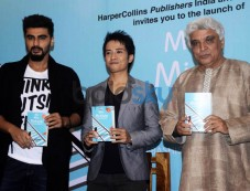 Arjun kapoor And Javed Akhtar At The Book Launch Of ME MIA MULTIPLE Photos