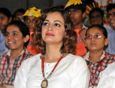 Dia Mirza At Celebration Of World Tiger Day In New Delhi Photos