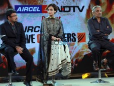 Dia Mirza at NDTV AIRCEL Save Our Tigers event in New Delhi Photos