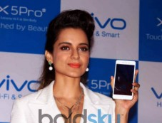 Kangana Ranaut At Launch Of Vivo Mobile In New Delhi Photos