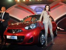 Kangana At The Launch Of Nissan Micra X-Shift Photos