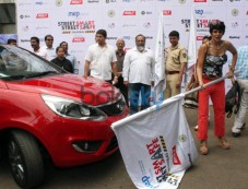 Mandira Bedi Flags Off Women Safety Rally Photos