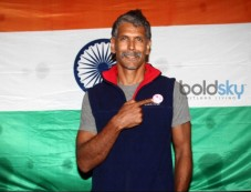 Milind Soman Returns India After Winning Iron Man Award Photos