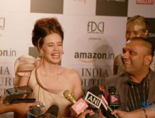 Press Conference Of Gaurav Gupta And Kalki Koechlin Photos